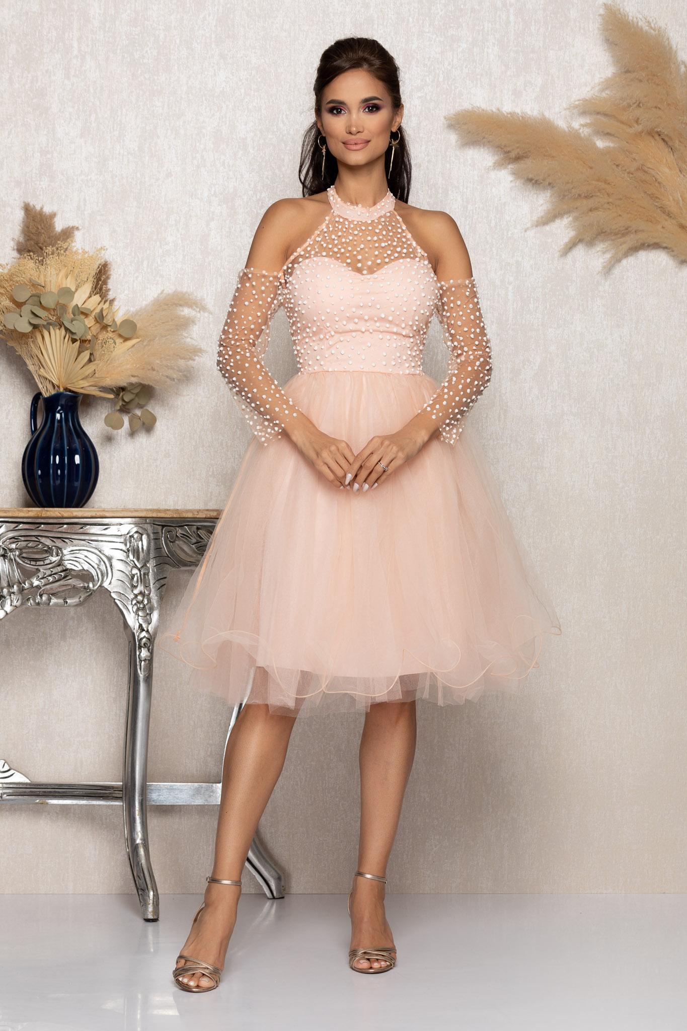 Rochie Barby Rose Marimi Mari M (38)   L (40)   XL (42)   XXL (44)   3XL (46)