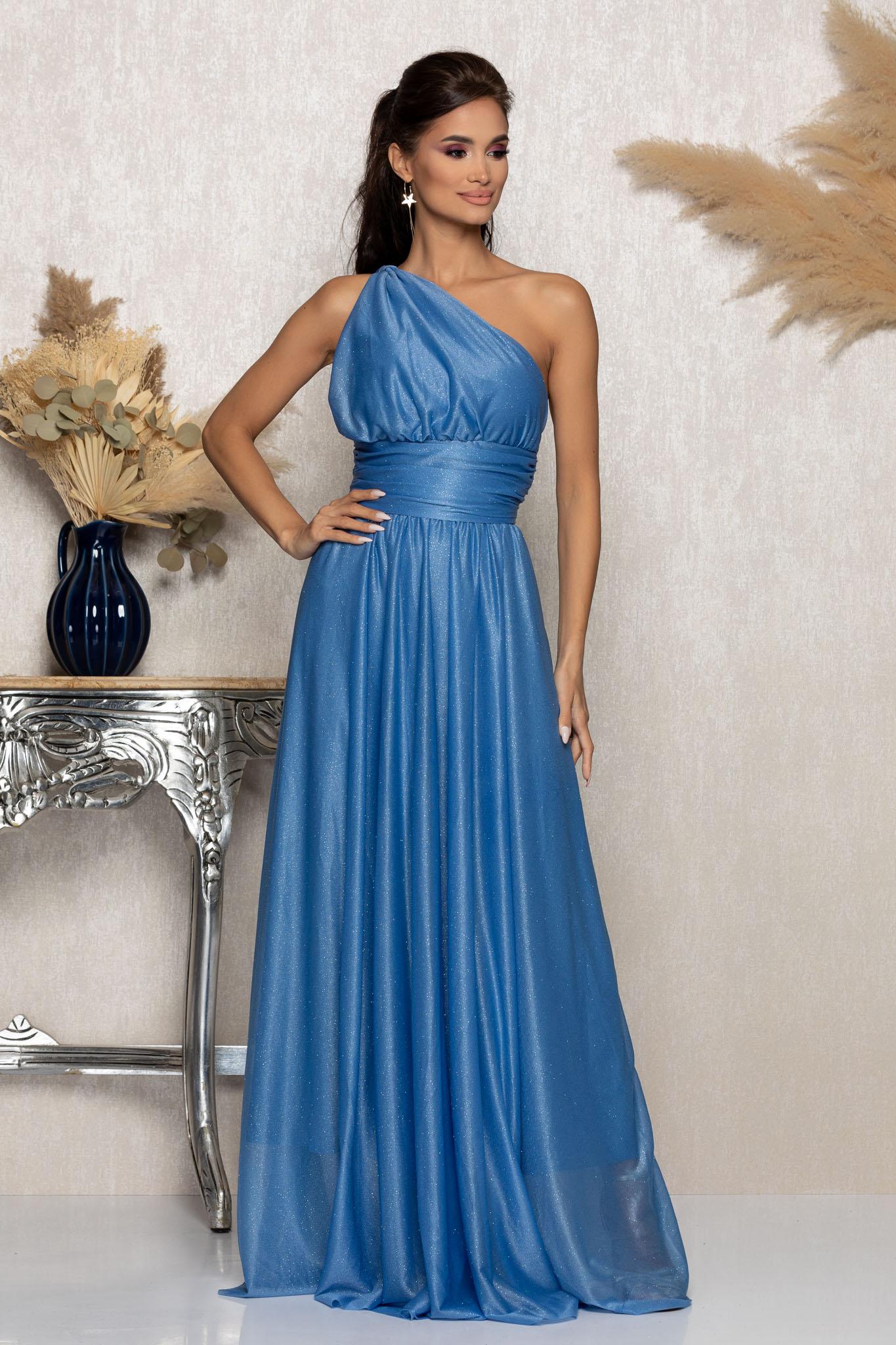 Rochie Divissima Bleu Marimi Mari M (38)   L (40)   XL (42)   XXL (44)   3XL (46)