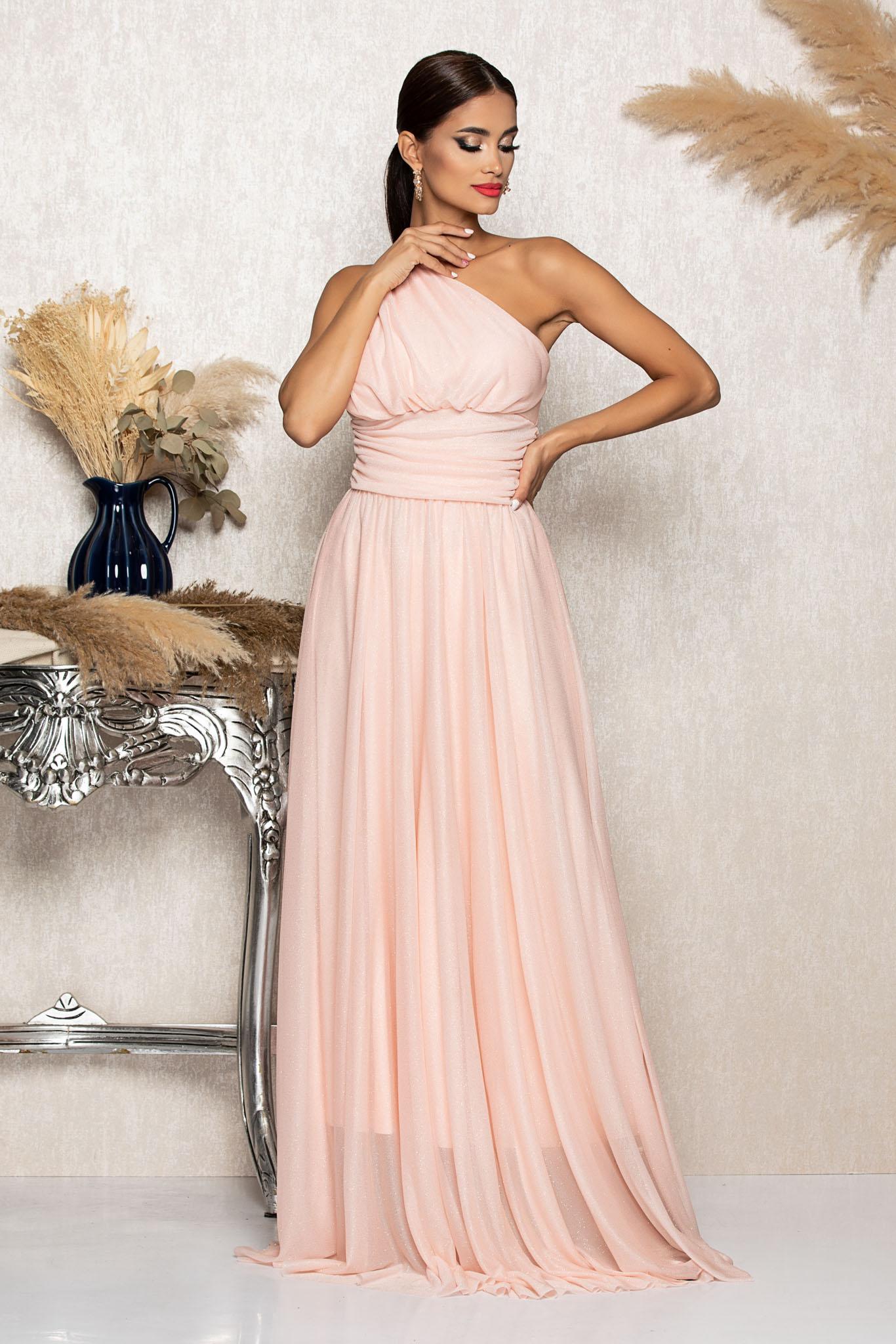 Rochie Divissima Peach Marimi Mari M (38)   L (40)   XL (42)   XXL (44)   3XL (46)