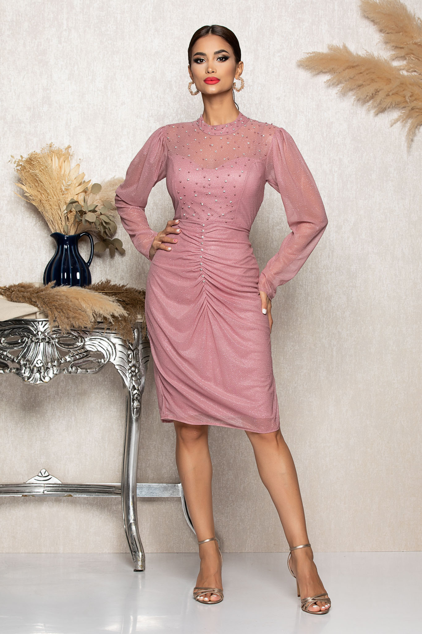 Rochie Flirty Lila Marimi Mari M (38) | L (40) | XL (42) | XXL (44) | 3XL (46)