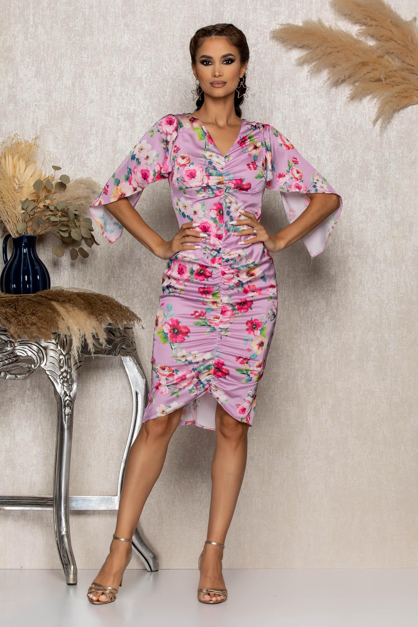 Rochie Moze Angella Lila Marimi Mari S (36) | M (38) | L (40) | XL (42) | XXL (44) | 3XL (46)