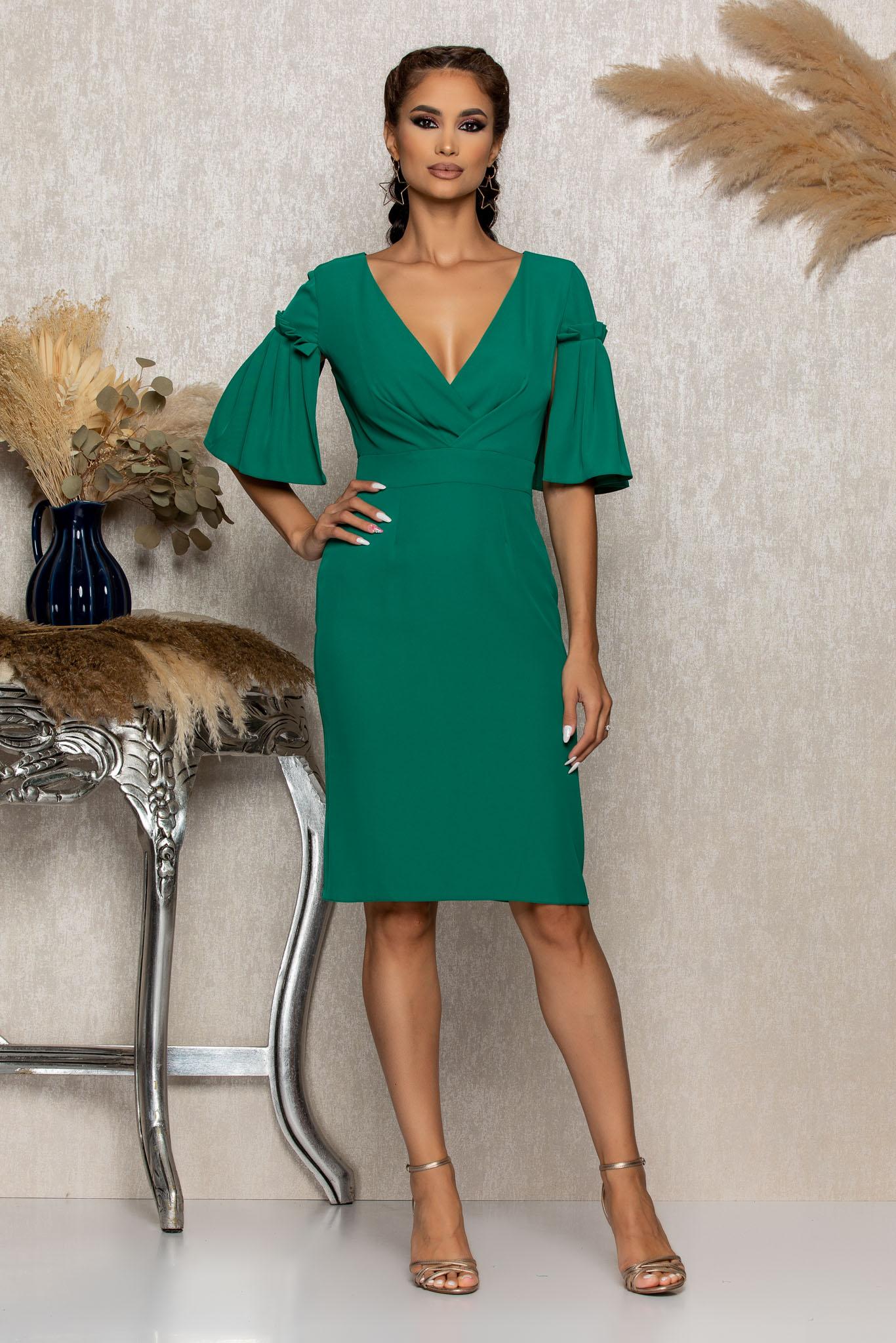 Rochie Moze Verra Verde Marimi Mari S (36) | M (38) | L (40) | XL (42) | XXL (44) | 3XL (46)