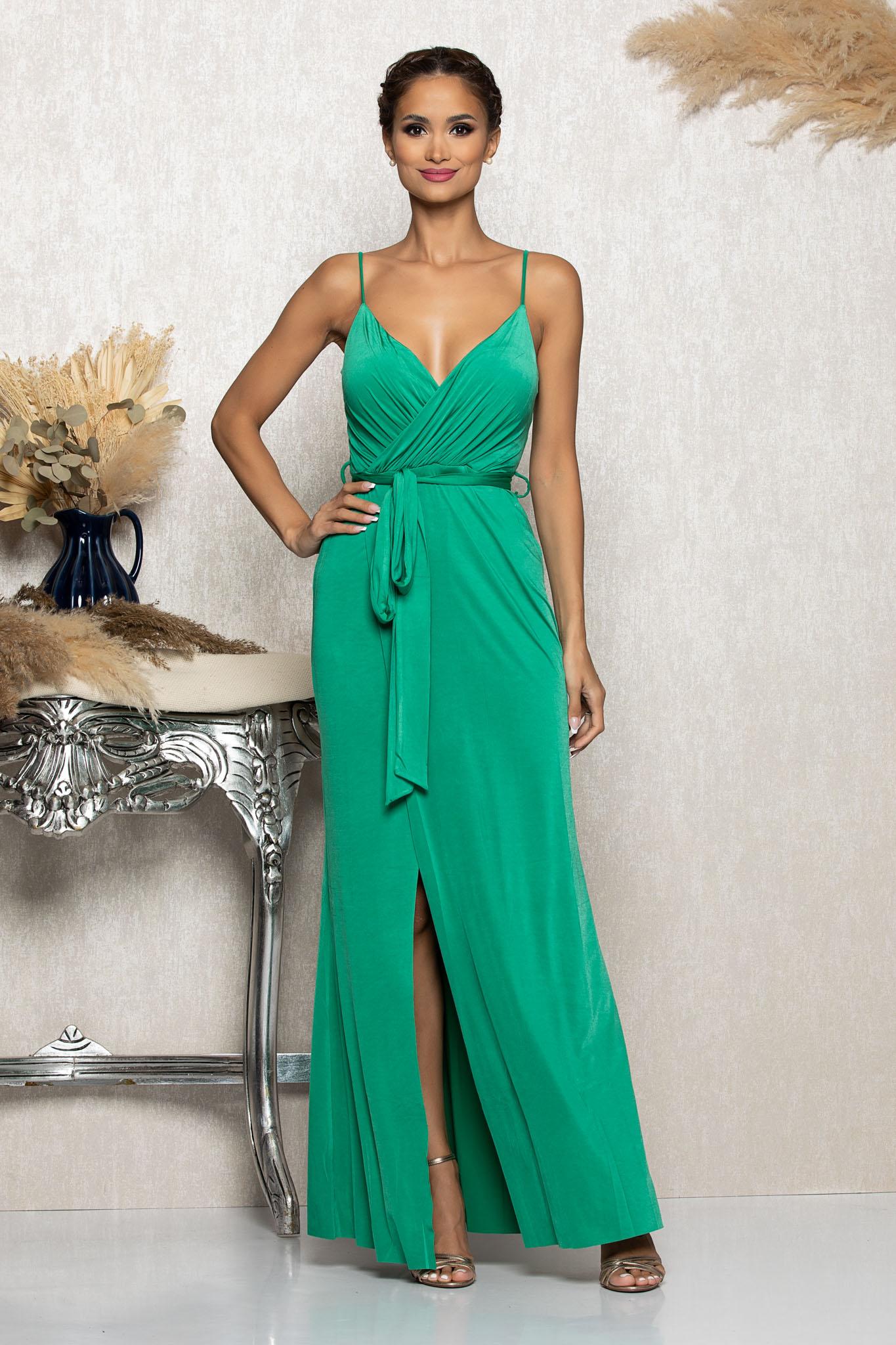 Rochie Vanity Verde Marimi Mari S (36)   M (38)   L (40)   XL (42)   XXL (44)