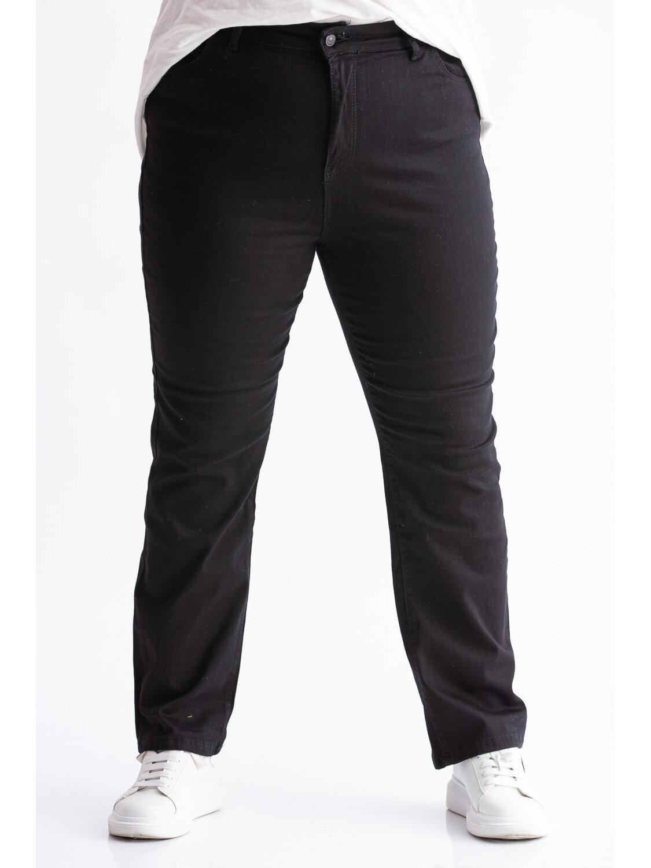 Blugi Dama Clasic Black Plus Size marime