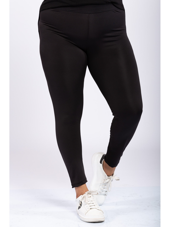 Colanti Dama Fasur Black Plus Size marime