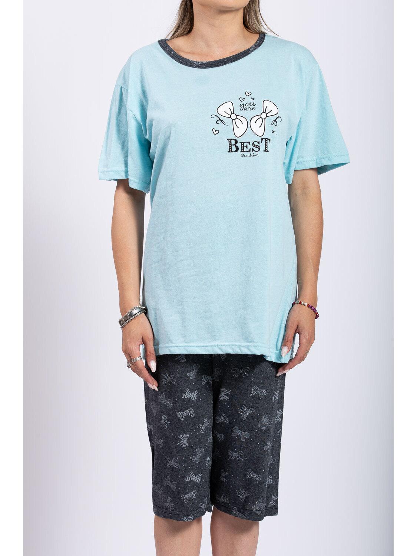 Pijama Dama Lola Bleu Plus Size marime
