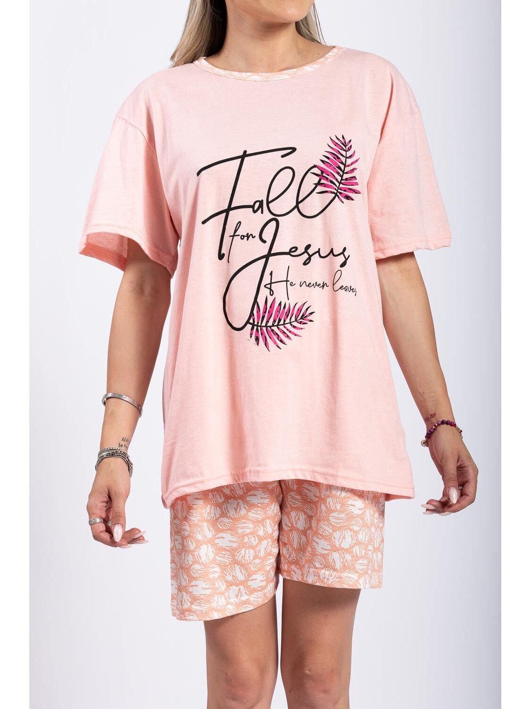 Pijama Dama Lola Pink Plus Size marime