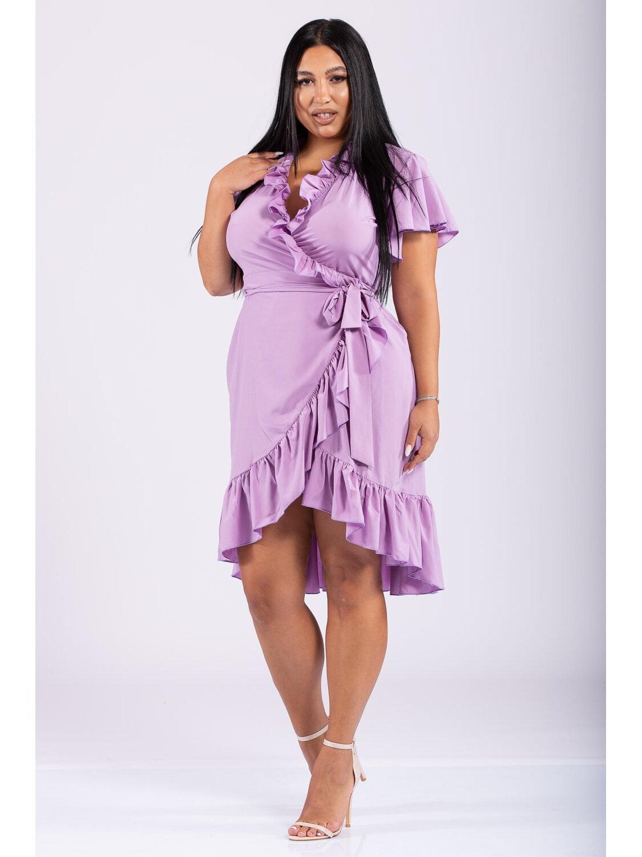 Rochie Dama Ranya Lila Plus Size marime