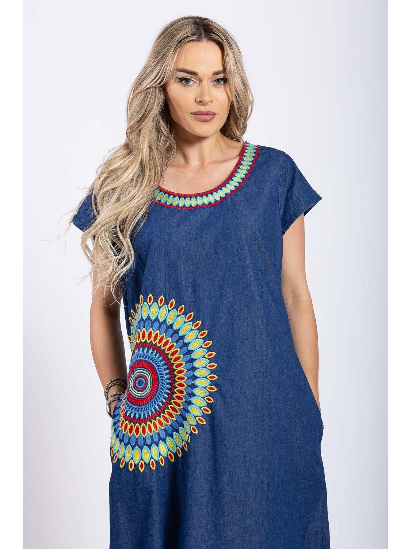 Rochie Dama Traditionala 12 Plus Size marime