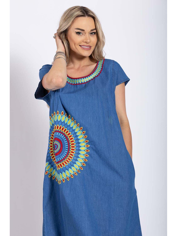 Rochie Dama Traditionala 13 Plus Size marime