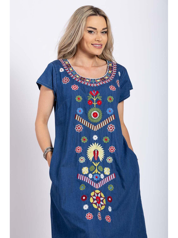 Rochie Dama Traditionala 16 Plus Size marime