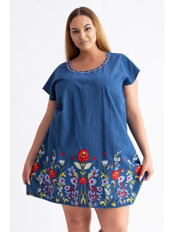 Rochie Dama Traditionala 17 Plus Size marime