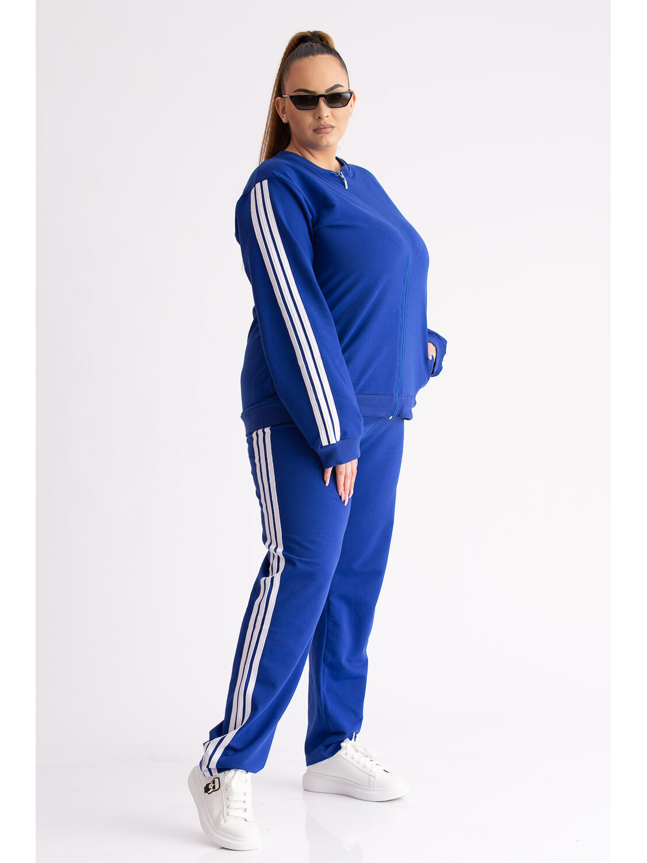 Trening Dama Olly Albastru Plus Size marime