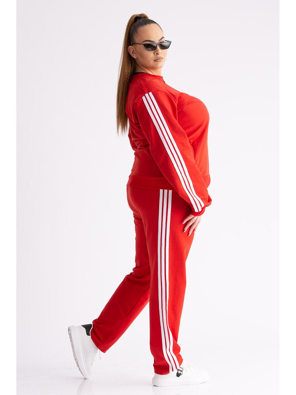 Trening Dama Olly Rosu Plus Size marime