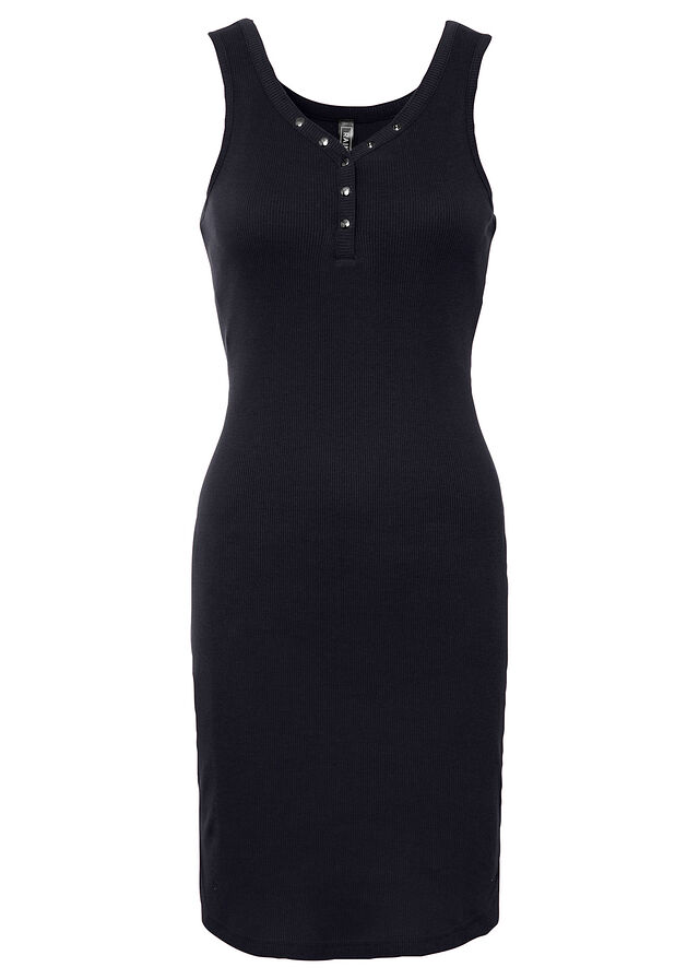 Rochie din tricot ripsat